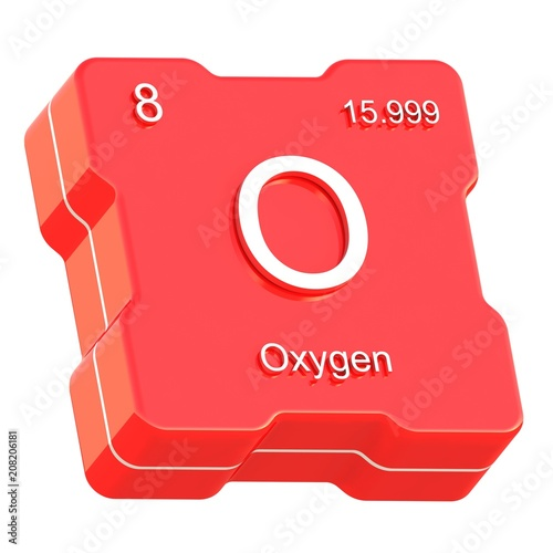 Oxygen element symbol from periodic table on futuristic red icon oxygen element symbol from periodic table on futuristic red icon isolated on white background urtaz Image collections