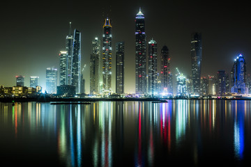 Poster Violet Dubai Marina