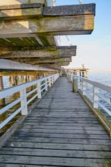 Sopot (Poland) Pier is longest wooden pier in Europe