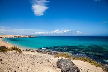 Grandes Playas de Corralejo in Fuerteventura, Canary Islands, Spain