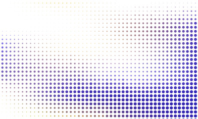 Digital gradient with points. Abstract futuristic panel. Dotted Backgound. Monochrome halftone pattern Vector illustration