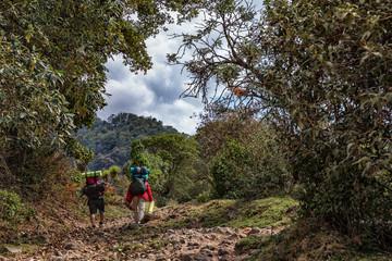 Hiking up Volcano Santa María, Guatemala, Mayo 2018