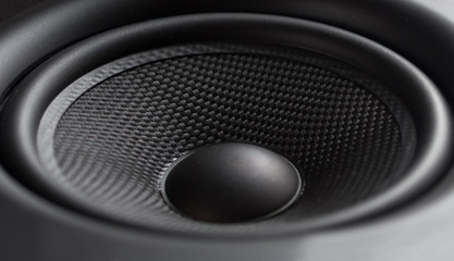 Closeup of speaker
