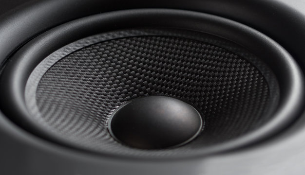 Closeup of speaker