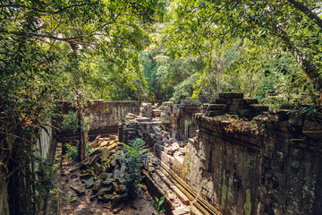 Ruins of the ancient temple of Beng Mealea.