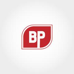 Initial Letter BP Logo Vector Design