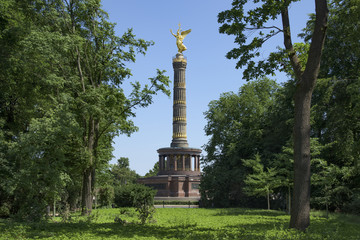 Berlin Victory Column in Berlin, Germany