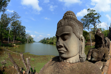 Wall Murals Place of worship CAMBODIA SIEM REAP ANGKOR THOM SOUTH GATE