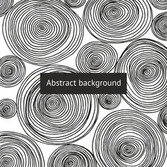 Abstract background with round patterns