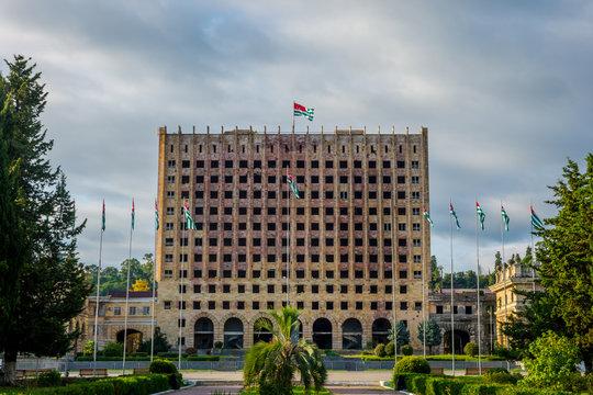 Abkhazian parliament, Sokhumi