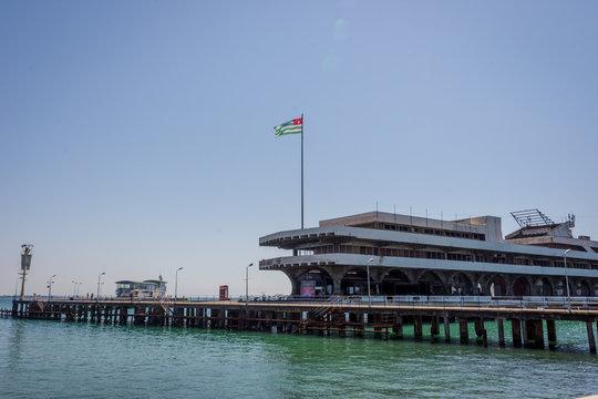 Pier, Sokhumi, Abkhazia
