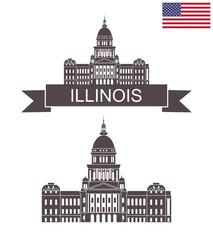 State of Illinois. Illinois State Capitol. Springfield