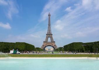 Poster Eiffeltoren Eiffel Tower in Paris, France