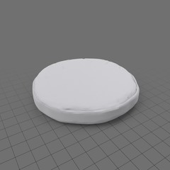 Round floor pillow