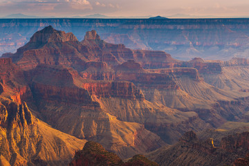 Sunset over the Grand Canyon, North Rim.