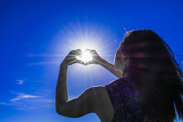 in the hands of the sun