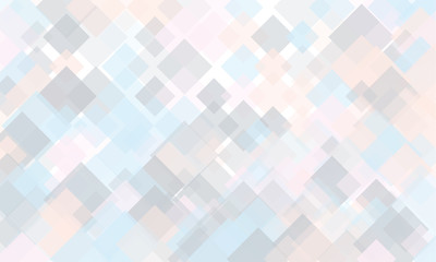 Light geometric background. Light, translucent, transparent squares with overlapping Backdrop in a modern minimalist style.