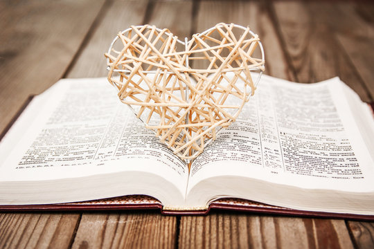 Bible and day in love