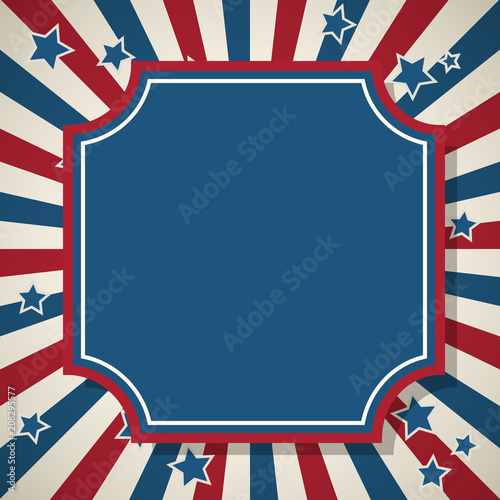 american patriotic background frame stock image and royalty free