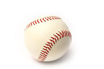 myach beautiful baseball on a white background