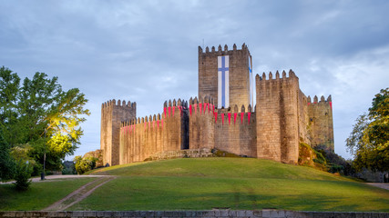 Castle of Guimaraes Wall mural