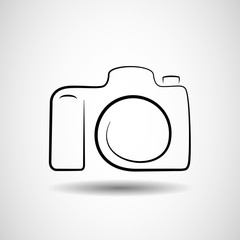 Camera icon vector design