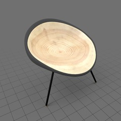 Modern bamboo chair