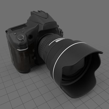 Handheld digital camera