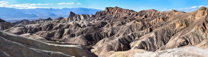 Landscape in the Death Valley at Zabriskie Point, USA