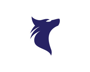Wolf vector icon