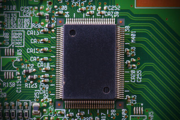Abstract of electronic circuit board hardware