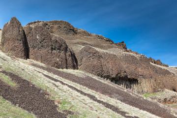 Columnar Basalt Rocks