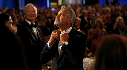 Actor Clooney attends the 46th AFI Life Achievement Award Gala in Los Angeles