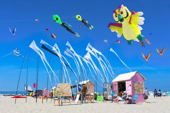 Berck-sur-Mer - France / Festival du cerf-volant