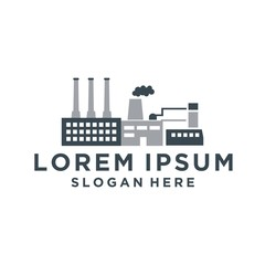 industrial factory logo
