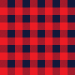 Red checkered pattern.