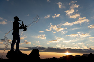 nature music feast, peace and rhythm