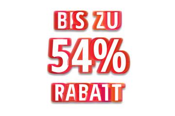 bis zu 54% Rabatt - weißer Hintergrund rote Schrift für Symbol / Schild