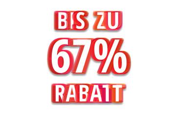 bis zu 67% Rabatt - weißer Hintergrund rote Schrift für Symbol / Schild