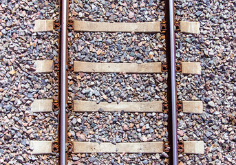 Piece of railroad. photo from Finland.