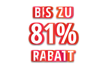 bis zu 81% Rabatt - weißer Hintergrund rote Schrift für Symbol / Schild