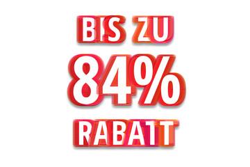 bis zu 84% Rabatt - weißer Hintergrund rote Schrift für Symbol / Schild