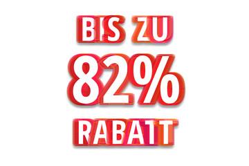 bis zu 82% Rabatt - weißer Hintergrund rote Schrift für Symbol / Schild