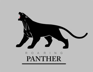 roaring panther