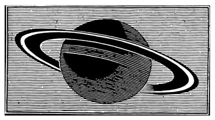 Planet Saturn #vector