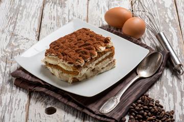 tiramisu italian traditional dessert