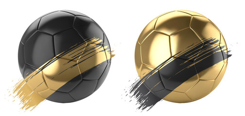 Ballons de football vectoriel 18