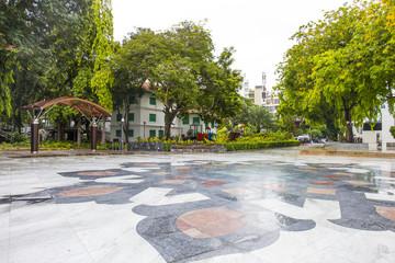 マレ 街風景