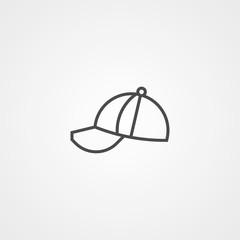 Cap vector icon