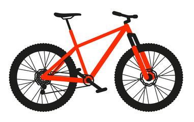 vtt rouge orange